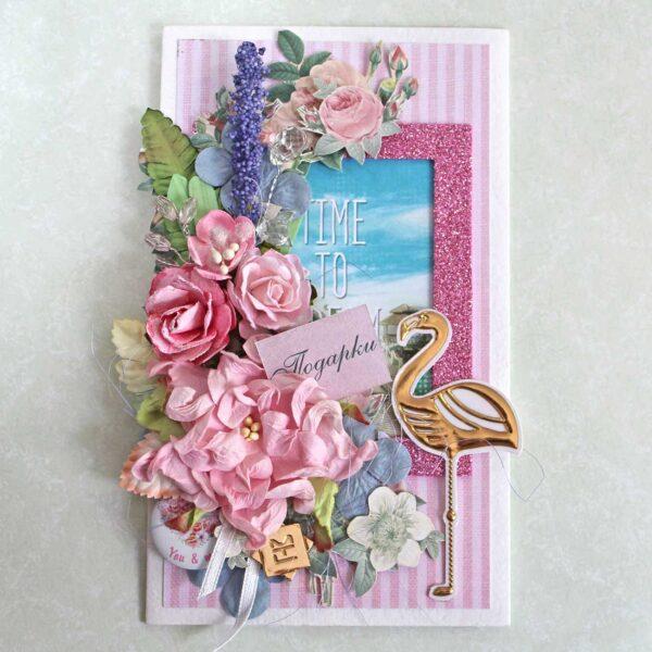 конверт-открытка с днём рождения luadjo