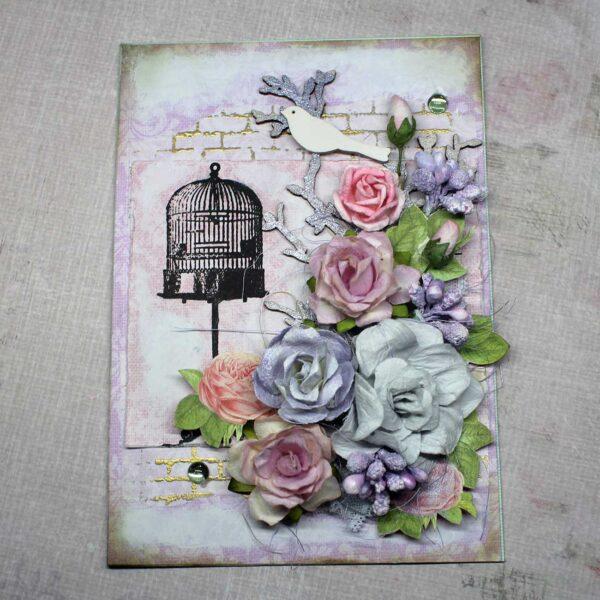 красивая открытка с днём рождения на 8 марта купить luadjo