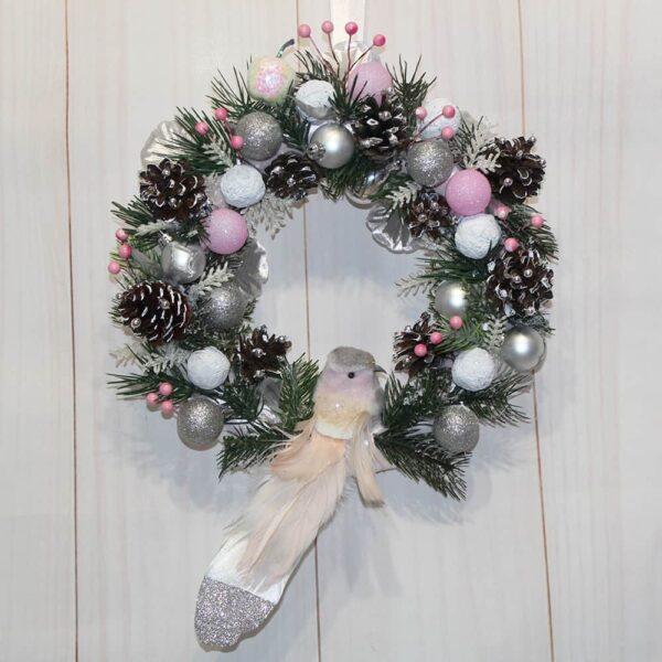 рождественский венок новогодний венок купить киев