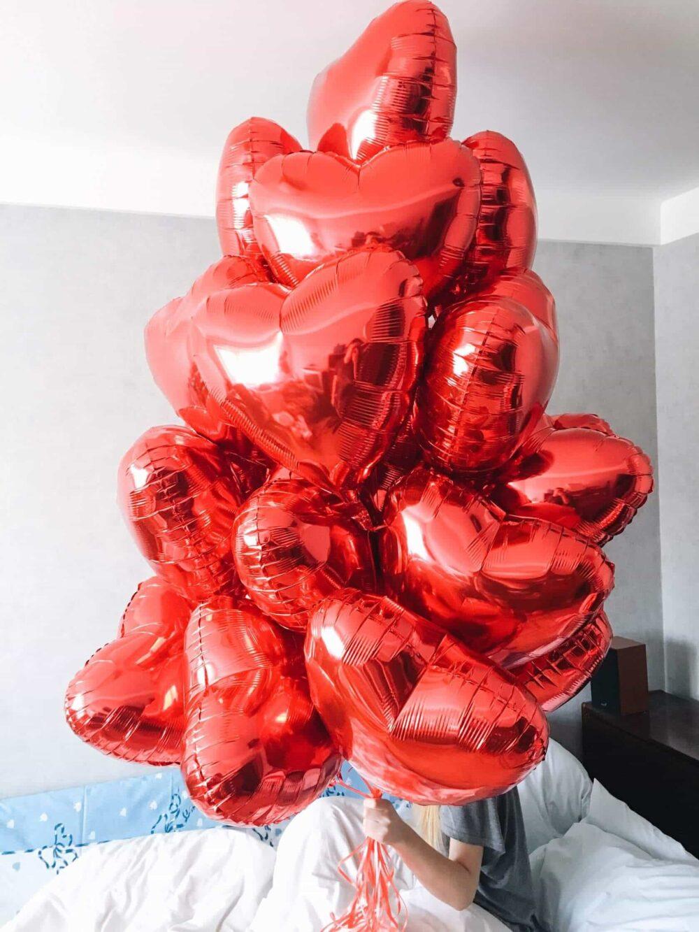 Композиция воздушных шаров